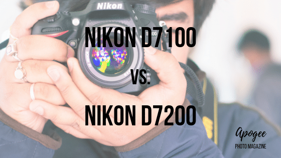 Nikon D7100 vs. Nikon D7200