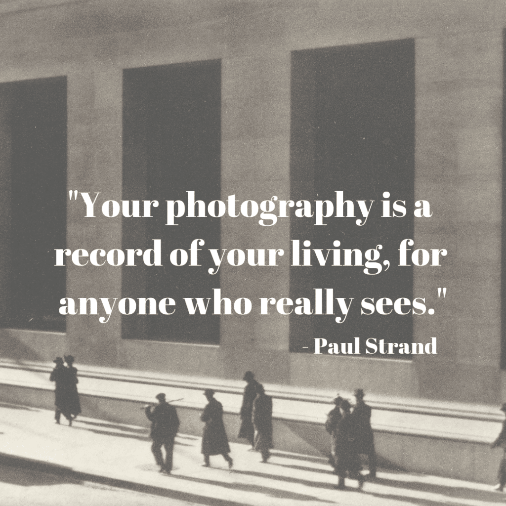 paul strand quote