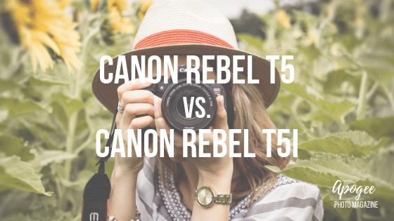 canon rebel t5 vs t5i