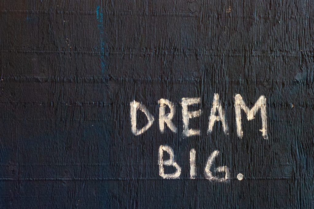 dream big inspirational picture
