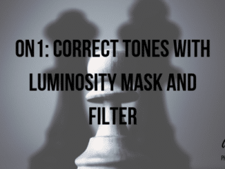 on1 luminosity mask and filter